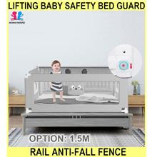 Lifting Baby Safety Bed Guard Bed Rail Anti-fall Bed Fence Be - [1.5M]