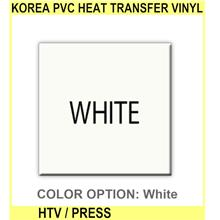 Korea Pvc Heat Transfer Vinyl Htv / Heat Press Vinyl / Therm - [WHITE]