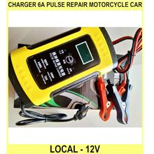 Charger 6a Pulse Repair Motorcycle Car Charger Local - 12V