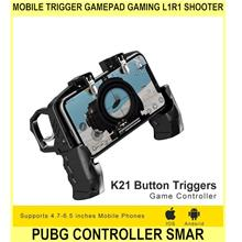 Mobile Trigger Gamepad Gaming L1r1 Shooter Pubg Mobile Controller Smar