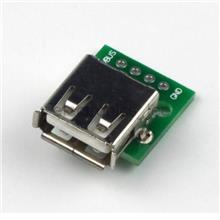 USB 2.0 Female To DIP 4 Pin 2.54 Mm Adapter Converter Breakout Board