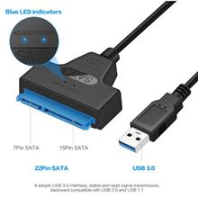 "USB 3.0 To SATA Adapter Cable For 2.5 "" SSD/HDD Drives"