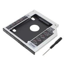Universal 2.5 2nd 9.5mm Ssd Hd SATA Hard Disk Drive HDD Caddy Adapter Bay F