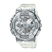 Casio G-SHOCK Men Silver Camouflage Case Skeleton Watch GM-110SCM-1ADR