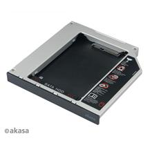 AKASA 12.7MM OPTICAL DRIVE CADDY TRAY FOR SSD/HDD (AK-OA2SSA-BK)