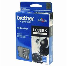 GENUINE BROTHER LC-38 BLACK INK CARTRIDGE **NEW**SEALED BOX