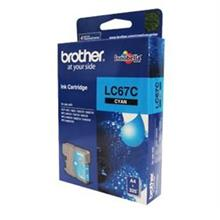 GENUINE BROTHER LC-67 CYAN INK CARTRIDGE **NEW**SEALED BOX