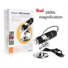 1600X Digital Microscope 8 LED HD USB Android Handheld Magnifier Endoscope Cam
