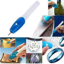 Engraving Pen DIY Mini Handmade Carving Tool Electric Power