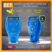 Benetech GM200A Digital Mini Coating Thickness Gauge for Car Paint Tester