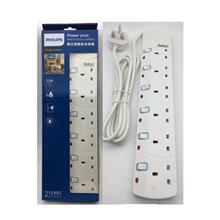 Philips SIRIM Approved 3/4/5/6 Gang Extension Socket Power Strips 2M Heavy Dut
