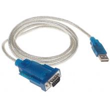 HIGH QUALITY USB 2.0 TO RS232 9 PIN SERIAL CABLE 1M