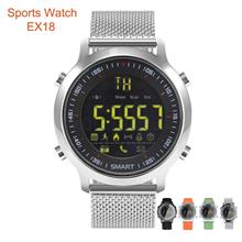 Luminous Dial Pedometer Bluetooth Fitness Sport Smart Watch EX18