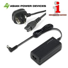 APD 19V 3.43A 65W Power Adapter with Fused UK 3-Pin AC Plug