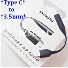ORIGINAL SAMSUNG Type C to 3.5mm Audio Jack Adapter S20 Ultra Plus S10