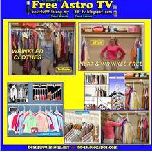 Gantung Baju Pakaian Wonder Hanger As seen on TV Triples Closet Space