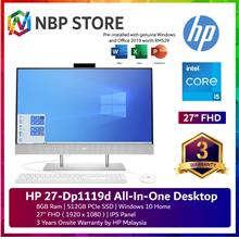 "HP 27-dp1119d 27 "" FHD All-in-One Desktop PC White"