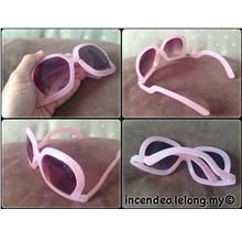 **incendeo** - Stylish Pink Oversized Sunglasses for Ladies