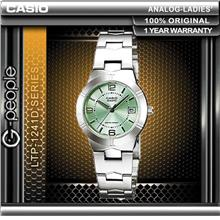 CASIO LTP-1241D-3A LADIES WATCH 100% ORIGINAL