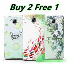 Buy 2 Free 1 @ OnePlus One Plus 3 Three 3D Silicone Case Cover Casing