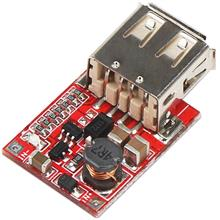 Step Up DC-DC Converter 3V to 5V 1A USB Charger Mini Mobile Power