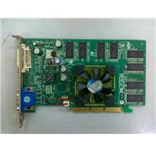 Leadtek Quadro FX500 128MB AGP Graphic Card 210911