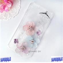 Iphone 6/6S/6Plus/6S Plus/7/7 plus ladies lace crystal pearl case