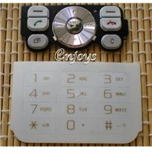 Enjoys Keyboard Keypad Part Sony Ericsson W910i ~WHITE @Press like ORI