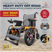 Electric Wheelchair Heavy Duty Off Road Front Motor | 24V 20AH