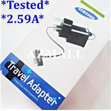 2in1 Charger Cable Samsung P1000 Galaxy TAB 2 7.0 7.7 8.9 10.1 ~3Pin