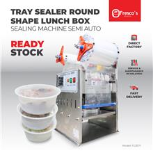 Tray Sealer Machine Round Shape Lunch Box