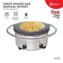Crepe Maker Gas Manual Rotary Oven Pancake