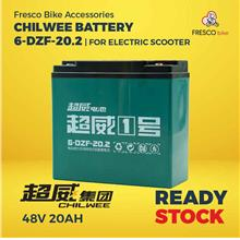 Electric Scooter/bike CHILWEE Battery 48V20AH