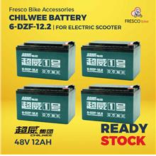 Electric Scooter/bike CHILWEE Battery 48V12AH 4pcs