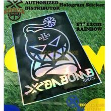 Da Bomb Hologram Stickers