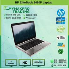 HP EliteBook 8460p Intel i5 2540m 4GB RAM 320GB HDD Win 10