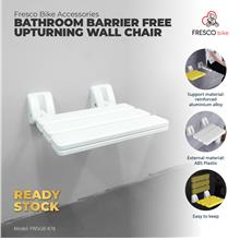 Bathroom Barrier Free Upturning Wall Chair Bathroom Health Accessories