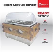 Oden Machine Acrylic Cover Penutup Bekas Mesin EXTRA PROTECTION