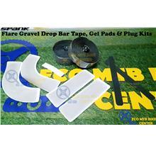 SPANK Flare Gravel Drop Bar Tape, Gel Pads & Plug Kit