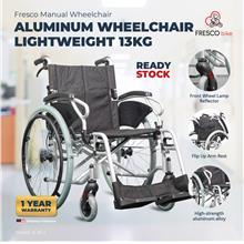 Aluminum Wheelchair Lightweight 13kg Aluminium Alloy Wheelchair