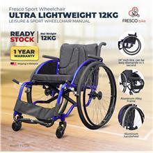 Sport Wheelchair Malaysia Leisure & Sport Wheelchair Manual (Blue)