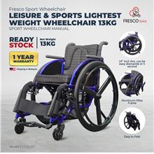 Leisure & Sports Lightweight Sport Wheelchair 13kg