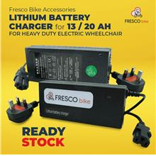 Lithium Battery Charger for 13 / 20 Ah For Electric Wheelchair