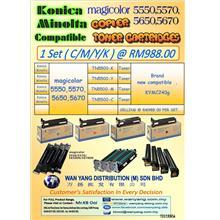 Konica Minolta Magicolor 5550,5570,5650,5670 CMYK / COLOUR COPIER