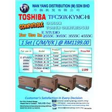 TOSHIBA  COLOR COMPATIBLE COPIER TONER CARTRIDGE FC-50