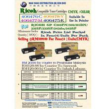 RICOH SPC 310FN / SPC 310 / SPC 311DN  CMYK / COLOUR COPIER
