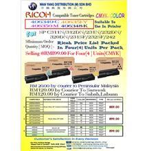 RICOH SPC 311N / SPC 312DN / SPC231N / SPC 232DN CMYK / COLOUR COPIER