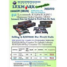 LEXMARK E120/E120N Compatible MONO Drum Unit