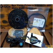 BOX COMPONENTS Box Three Prime 9 X-Wide 11-50T Multi Shift Groupset