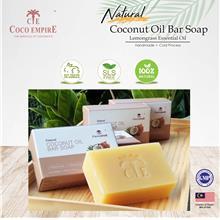 Coco Empire Natural Coconut Oil Bar Soap / 椰子王朝椰子油天然手工皂  (100g)